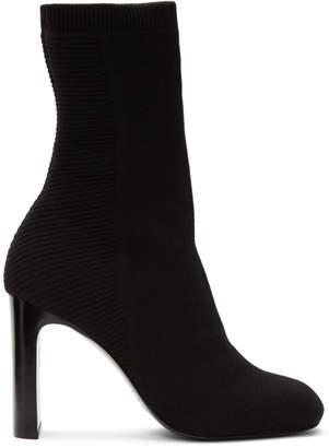 Rag & Bone Black Knit Ellis Boots