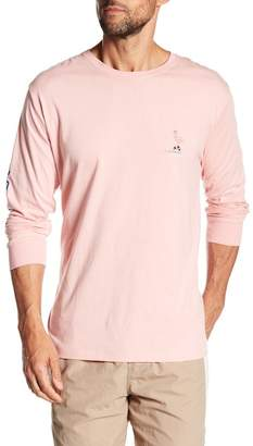Barney Cools Flamingo Disco Graphic Long Sleeve Tee