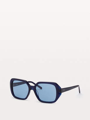 Diane von Furstenberg Coletta Square-Frame Sunglasses