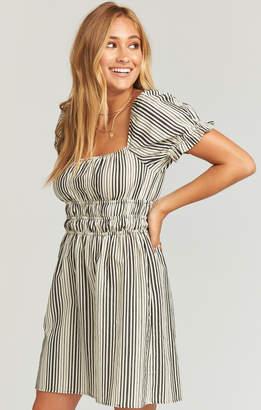 Show Me Your Mumu Paulina Mini Dress ~ Highway Stripe Flux