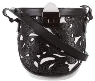 Loeffler Randall Leather Flap Bag