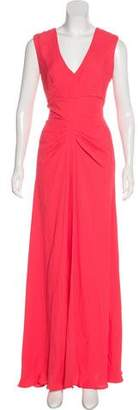 Lela Rose Sleeveless Maxi Dress