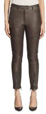 Moschino Leather Cargo Pants