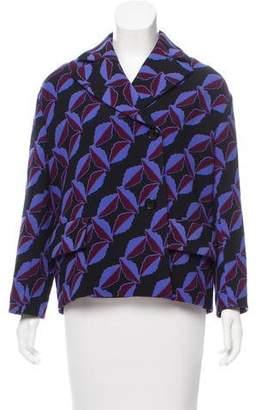Marni Abstract Print Wool Jacket w/ Tags
