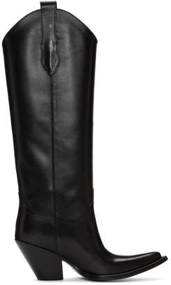 Maison Margiela Black Mexas Knee-High Boots
