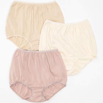 JCPenney Underscore Cotton 3 Pair Knit Brief Panty 0218711
