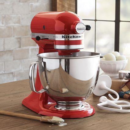KitchenAid Empire-Red Artisan Stand Mixer