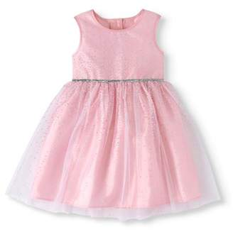 Healthtex Toddler Girl Lacquer Dot Ballerina Special Occasion Dress