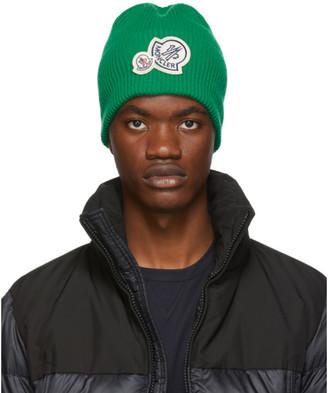 Moncler Green Knit Beanie