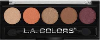 Dune L.A. Colors LA Colors 5 Color Metallic Eye Shadow Palette 107 Desert