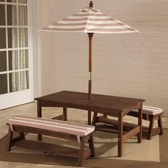 Kid Kraft Outdoor Table & Bench Set