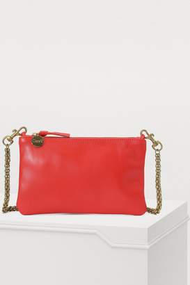 Clare Vivier Clutch with chain