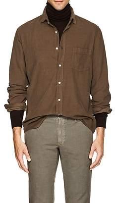 Hartford Men's Cotton Corduroy Shirt - Cream