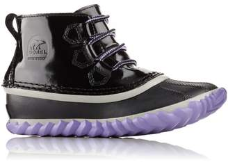 Sorel Youth Out N About Patent Leather Lace Boot