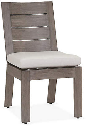 One Kings Lane Laguna Side Chair - Canvas Sunbrella