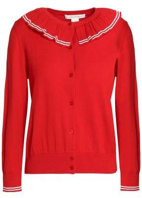 Marc Jacobs Ruffle-Trimmed Cotton Cardigan