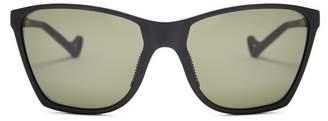 District Vision - Keiichi Square Frame Performance Sunglasses - Mens - Black