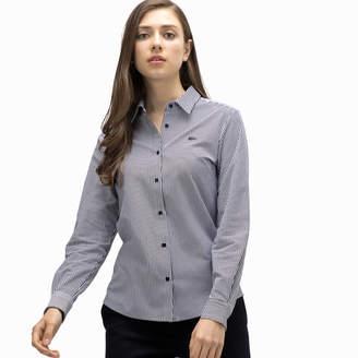 Lacoste (ラコステ) - ストライプカットソーシャツ