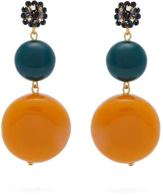 marni earrings clasp earring in with butterfly spring d leather from woman n us the