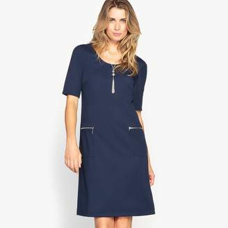 Anne Weyburn Textured Tunic Dress
