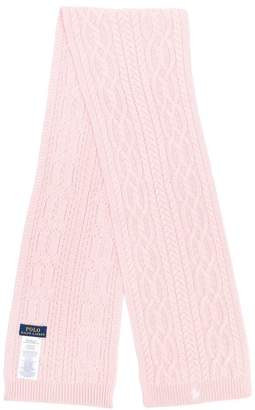 Ralph Lauren TEEN cable knit scarf