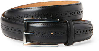 Cole Haan Hamilton Grand Brogued Leather Belt