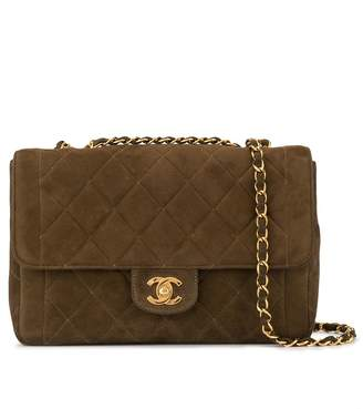 Chanel Pre-Owned 1995's quilted double chain shoulder strap
