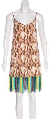 Just Cavalli Animal Print Slip Dress