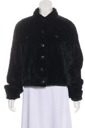 Fur Sheared Mink Jacket