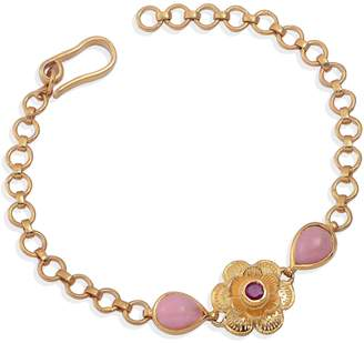 Emma Chapman Jewels Gypsy Rose Ruby & Pink Tourmaline Bracelet