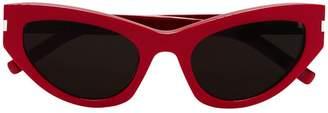 Saint Laurent Eyewear red 215 grace sunglasses