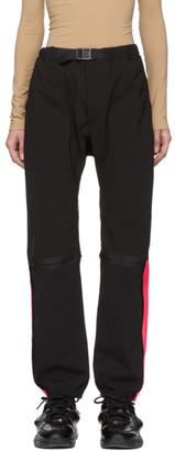 Marcelo Burlon County of Milan Black Logo Lounge Pants