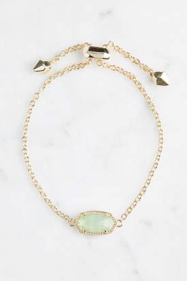 Kendra Scott Elaina Chalcedony Glass Bracelet