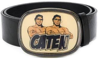 DSQUARED2 Caten plate buckle belt