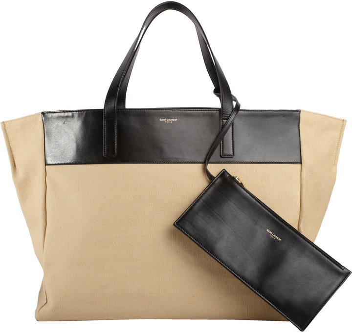 Saint Laurent East/West Shopping Bag