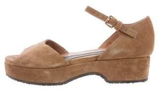 Marni Peep-Toe Flatform Sandals