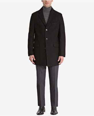 Bar III Men's Slim-Fit Overcoat, Created for Macy's