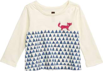 Tea Collection Fox Trot Graphic T-Shirt