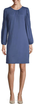 Spense Long Sleeve A-Line Dress
