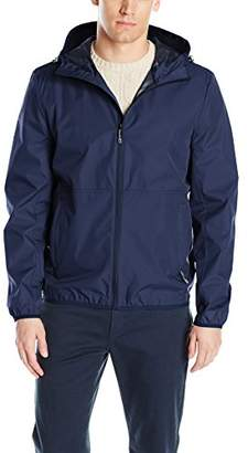 Perry Ellis Men's Hooded Packable Vented Jacket