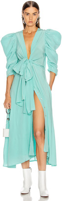Silvia Tcherassi Hel Dress in Aqua | FWRD