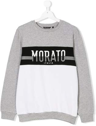 Antony Morato Junior TEEN contrast sweatshirt