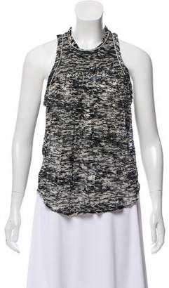 Isabel Marant Sleeveless Devoré Top