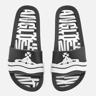 8f17909a3e9b5e Melissa Women s Beach Slide Sandals - Black Contrast