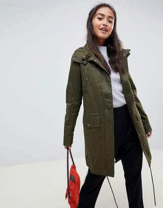 Only Amber long parka coat