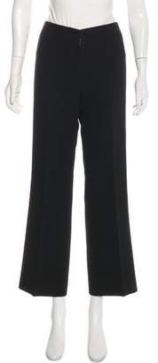 Alaia Wool Mid-Rise Pants