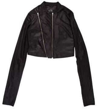 Unconditional Zip-Accented Moto Jacket
