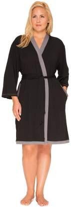 Cuddl Duds Plus Size Pajamas: Essentials Wrap Robe