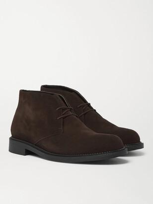 J.M. Weston - Suede Desert Boots - Men - Brown