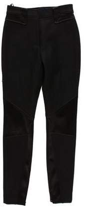 Peter Som Mid-Rise Wool-Blend Pants